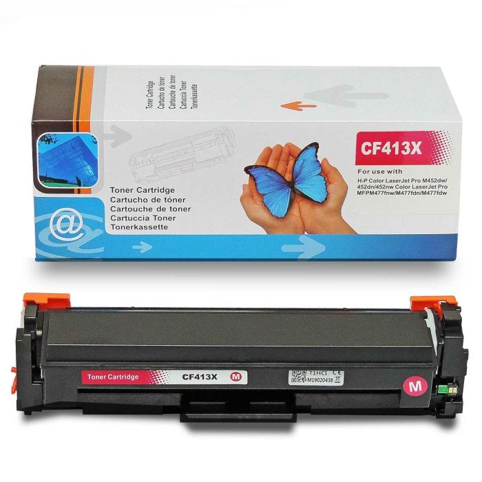 Kompatibel HP CF413X, 410X M Magenta Rot Toner Patrone...