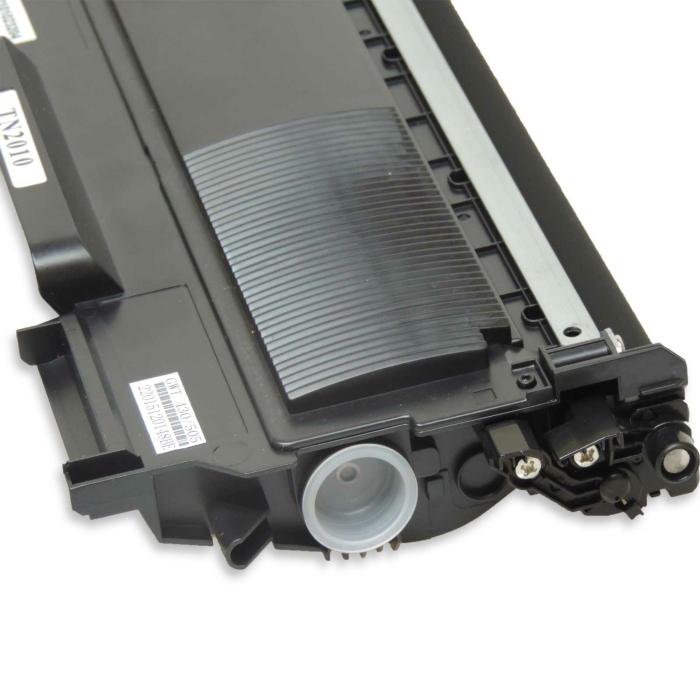 Kompatibel Brother TN-2010 BK Schwarz Black Toner Patrone für 2.600 Seiten von D&C