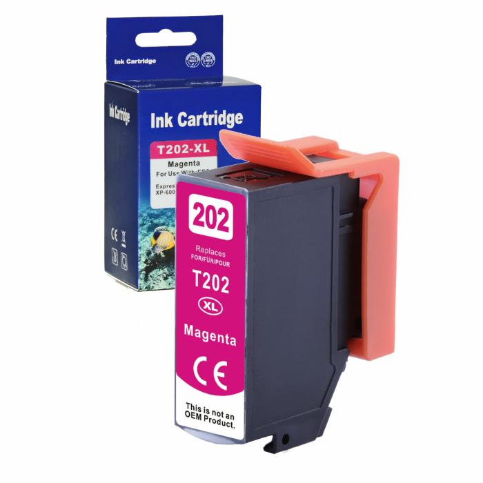 Kompatibel Epson Kiwi, T02H3, 202XL, C13T02H34010 M...