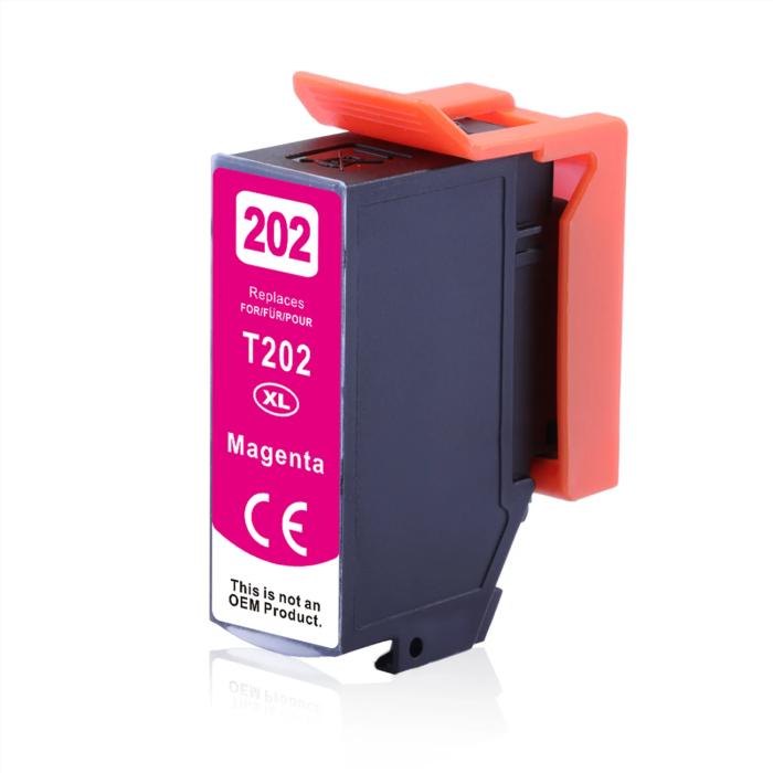 Kompatibel Epson Kiwi, T02H3, 202XL, C13T02H34010 M Magenta Rot Druckerpatrone für 650 Seiten von D&C