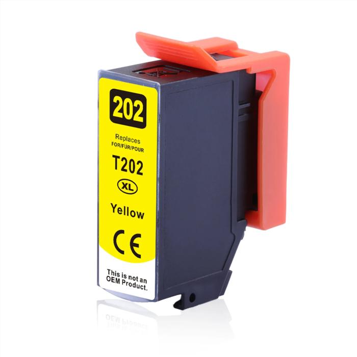 Kompatibel Epson Kiwi, T02H4, 202XL, C13T02H44010 Y...