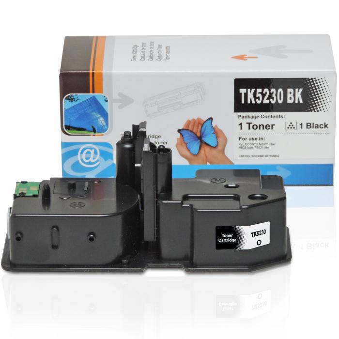 Kompatibel Kyocera TK-5230 BK Schwarz Black Toner Patrone für 2.600 Seiten von D&C