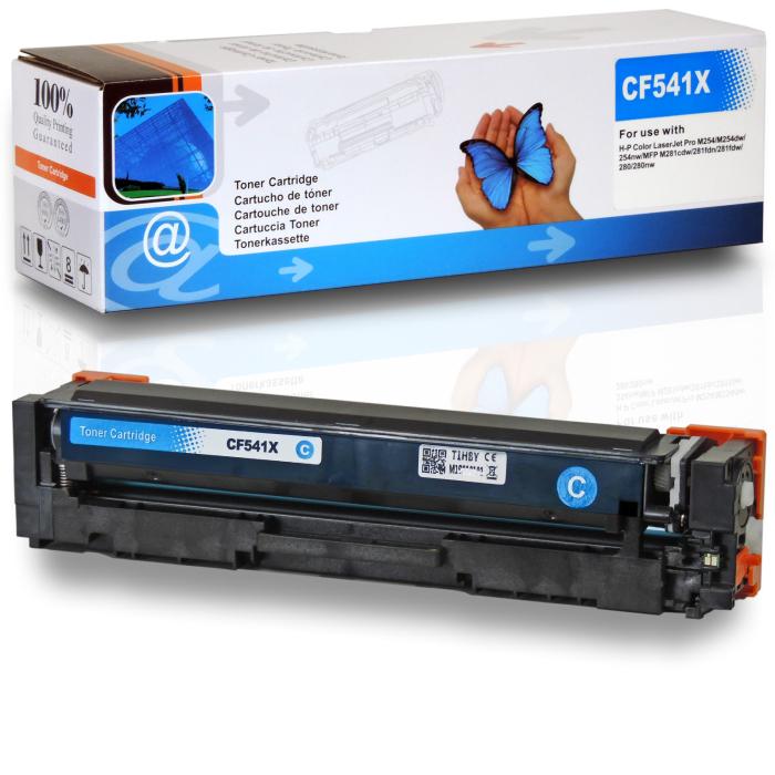 Kompatibel HP 203X, CF541X C Cyan Blau Toner Patrone für 2.500 Seiten von D&C