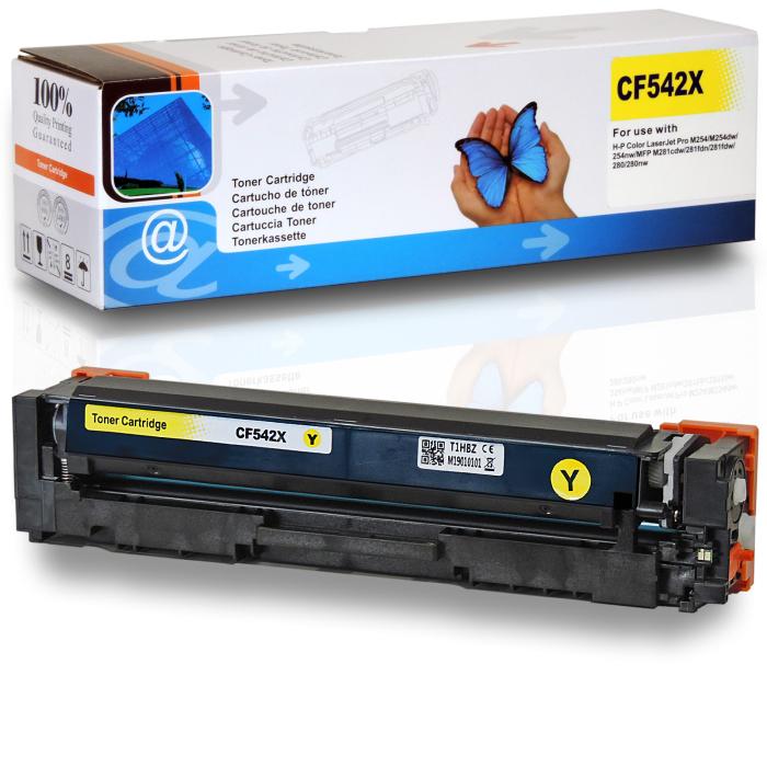 Kompatibel HP 203X, CF542X Y Yellow Gelb Toner Patrone für 2.500 Seiten von D&C