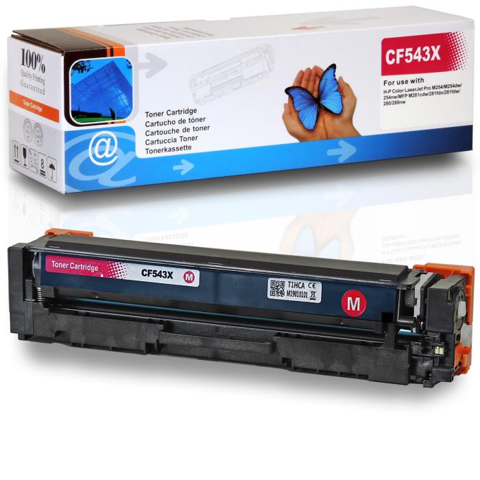 Kompatibel HP 203X, CF543X M Magenta Rot Toner Patrone für 2.500 Seiten von D&C
