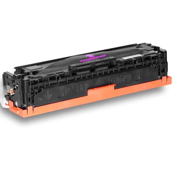 Toner kompatibel HP 125A BK,C,M,Y / CB540A/ CB541A/ CB543A/ CB542A Sparset 4 Tonerkartuschen alle Farben von D&C