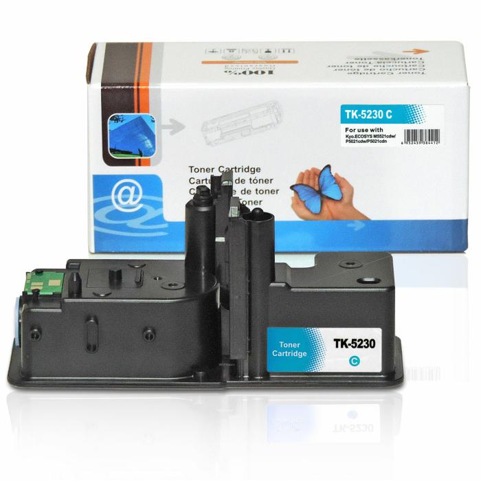 Kompatibel Kyocera TK-5230 C Cyan Blau Toner Patrone für 2.200 Seiten von D&C