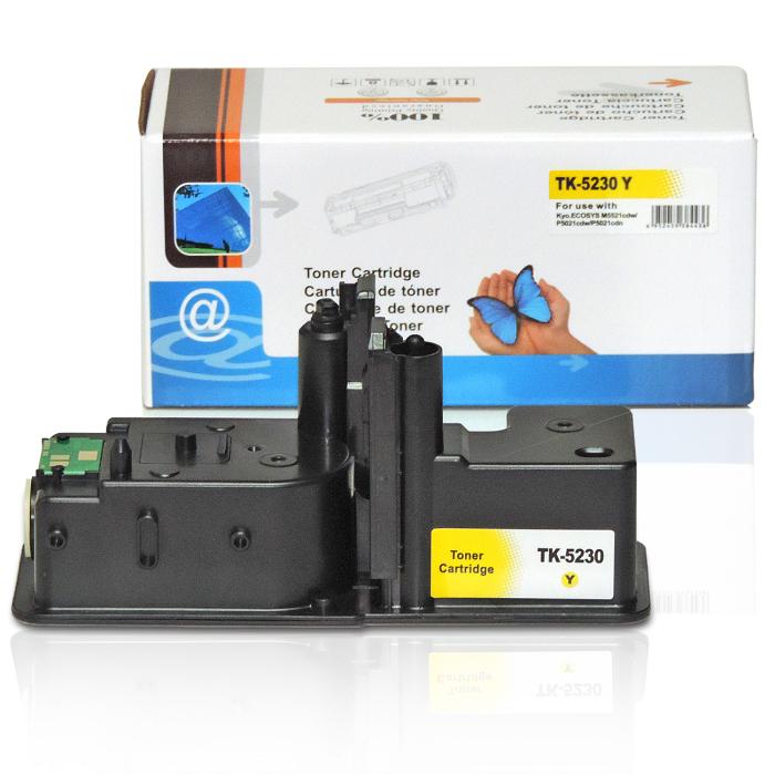 Kompatibel Kyocera TK-5230 Y Yellow Gelb Toner Patrone für 2.200 Seiten von D&C