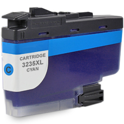 Kompatibel Brother LC-3235 XL C Cyan Blau Druckerpatrone für 5.000 Seiten von Gigao