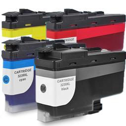 Kompatibel Brother LC-3235 XL Set 4 Druckerpatronen von...