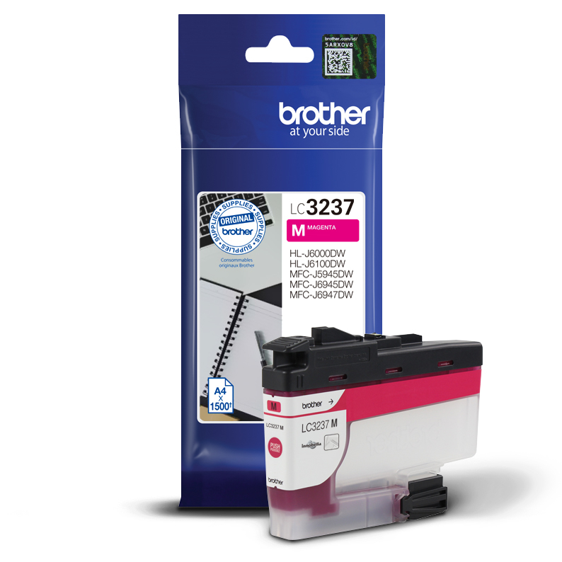 Original Brother Druckerpatrone LC-3237-M Magenta