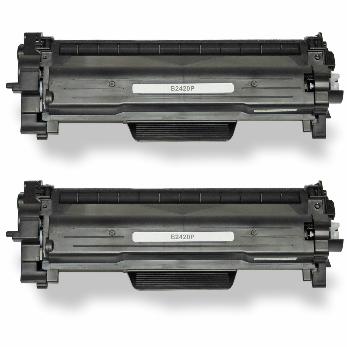 Kompatibel Brother TN-2420 XL 2 Toner Multipack Tonerpatronen für je 6.000 Seiten von Gigao