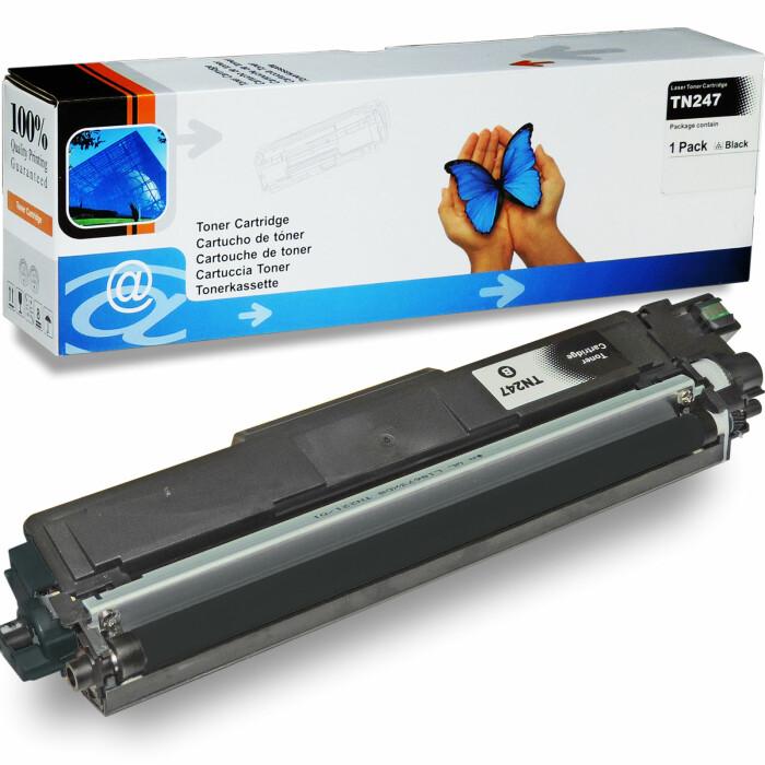 Kompatibel Brother TN-243BK / TN-247BK, TN-243C / TN-247C, TN-243M / TN-247M, TN-243Y / TN-247Y Sparset 4 Toner alle Farben von D&C