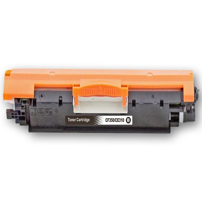 Kompatibel HP 126A BK / CE310A, 126A C / CE311A, 126A M / CE313A, 126A Y / CE312A Sparset 4 Toner alle Farben von D&C