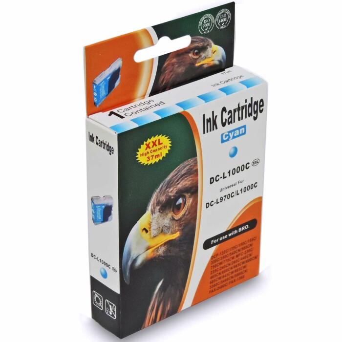 Kompatibel Brother LC-970 XXL, LC-1000 XXL Set 5 Druckerpatronen alle Farben von D&C