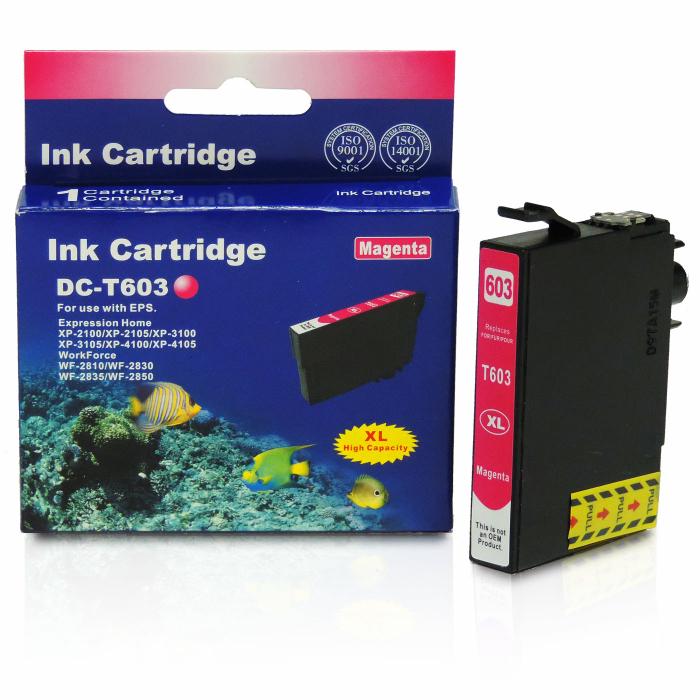 Kompatibel Epson Seestern, T03A3, 603XL, C13T03A34010 M Magenta Rot Druckerpatrone für 350 Seiten von D&C