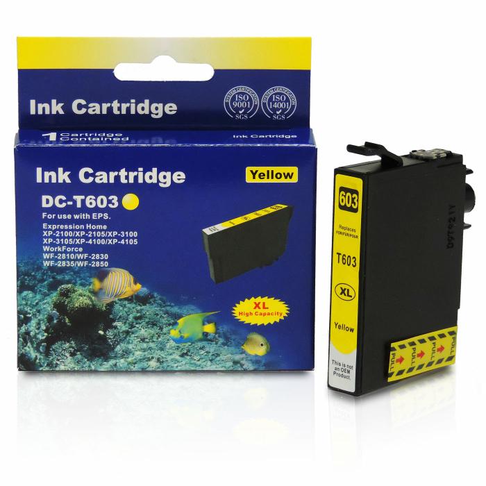 Kompatibel Epson Seestern, T03A4, 603XL, C13T03A44010 Y Yellow Gelb Druckerpatrone für 350 Seiten von D&C