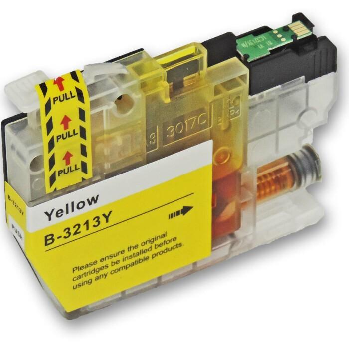 Kompatibel Brother LC-3213 XL Set 5 Druckerpatronen alle Farben von D&C