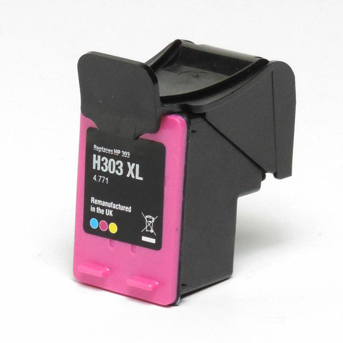Wiederbefüllt HP 303XL, T6N03AE C Color Cyan / Magenta / Gelb Druckerpatrone für 415 Seiten von Gigao