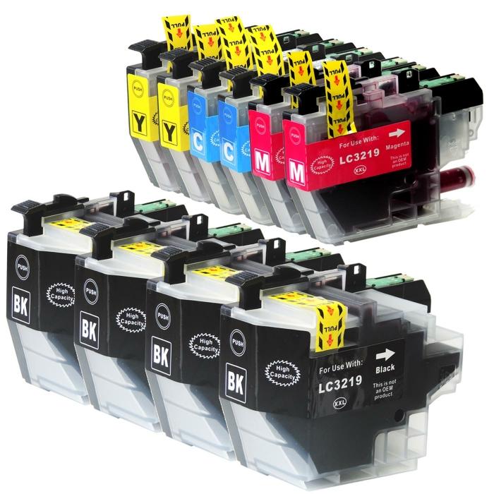 Kompatibel Brother LC-3219 XXL Set 10 Druckerpatronen alle Farben von D&C