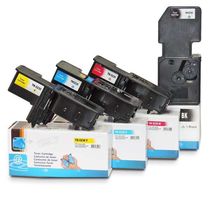 Kompatibel Kyocera TK-5230 BK, TK-5230 C, TK-5230 M,...