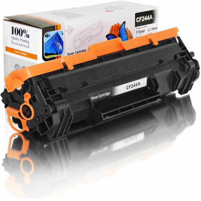 Kompatibel HP CF244A / 44A BK Schwarz Black Toner Patrone für 1.000 Seiten von D&C