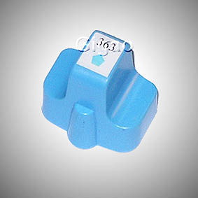 Kompatibel HP 363XL, C8774EE LC Light-Cyan Hell-Blau...