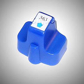 Kompatibel HP 363XL, C8771EE C Cyan Blau Druckerpatrone für 400 Seiten von D&C