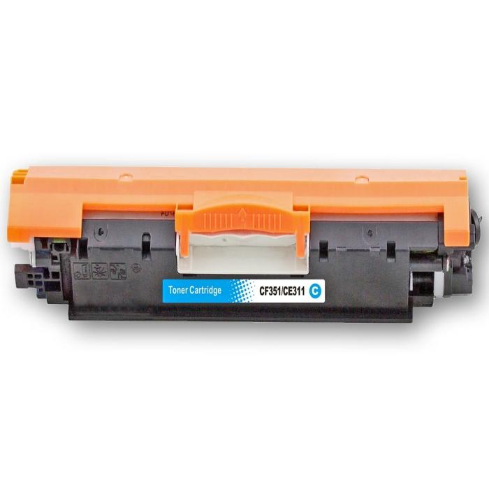 Kompatibel HP 130A, CF351A C Cyan Blau Toner Patrone...