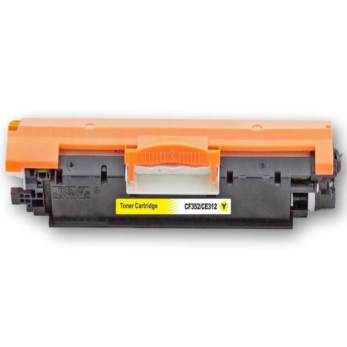 Kompatibel HP 130A, CF352A Y Yellow Gelb Toner Patrone...