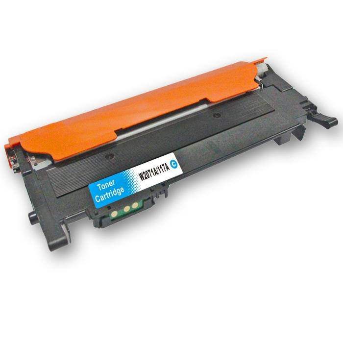 Kompatibel HP 117A, W2071A C Cyan Blau Toner Patrone...