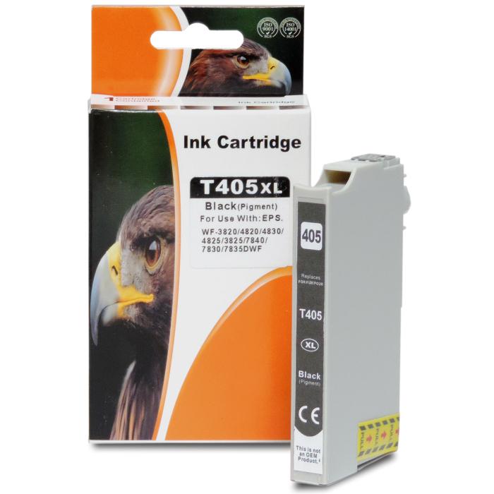 Kompatibel Epson 405XL, T05H1, C13T05H14010 BK Schwarz Black Druckerpatrone für 1.100 Seiten von D&C