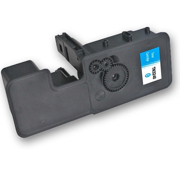 Kompatibel Kyocera TK-5240 C Cyan Blau Toner Patrone...