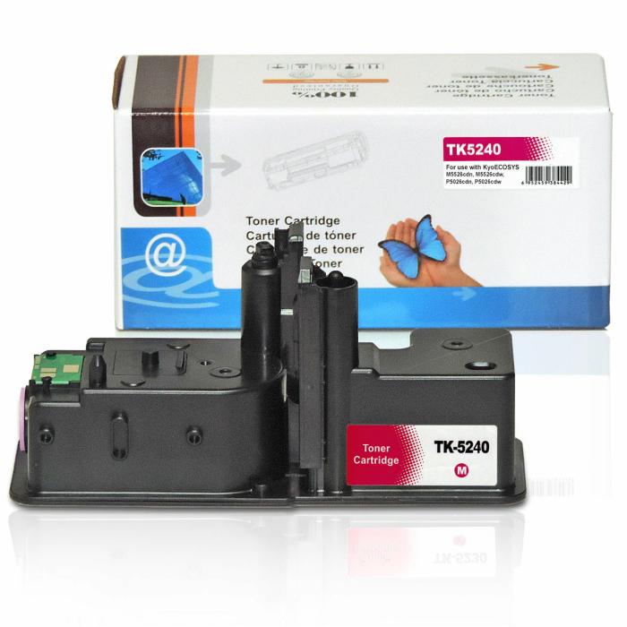 Kompatibel Kyocera TK-5240 M Magenta Rot Toner Patrone für 3.000 Seiten von D&C