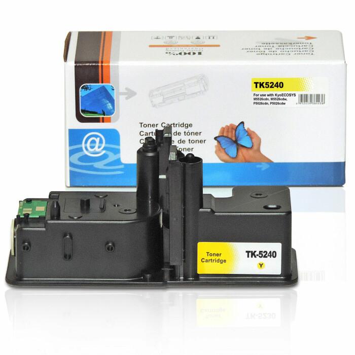 Kompatibel Kyocera TK-5240 Y Yellow Gelb Toner Patrone für 3.000 Seiten von D&C