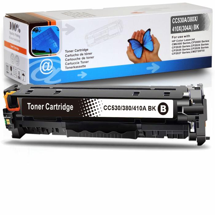 Kompatibel HP 304A, CC530A BK Schwarz Black Toner Patrone...