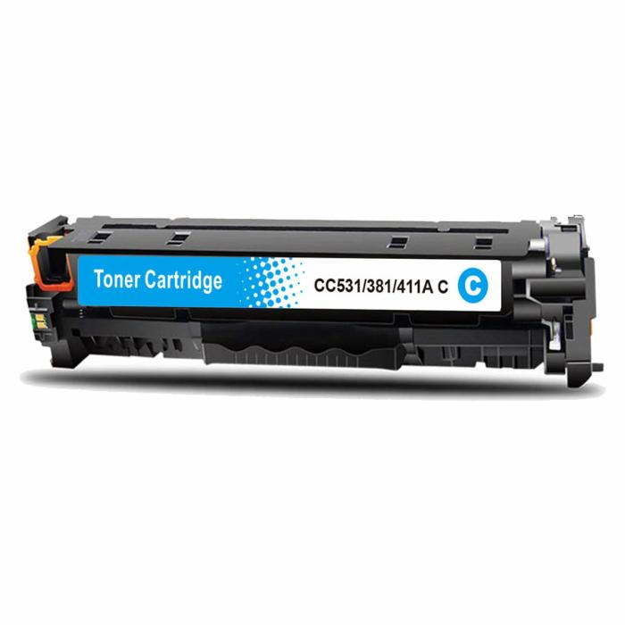 Kompatibel HP 304A, CC531A C Cyan Blau Toner Patrone...