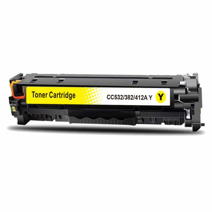 Kompatibel HP 304A, CC532A Y Yellow Gelb Toner Patrone...
