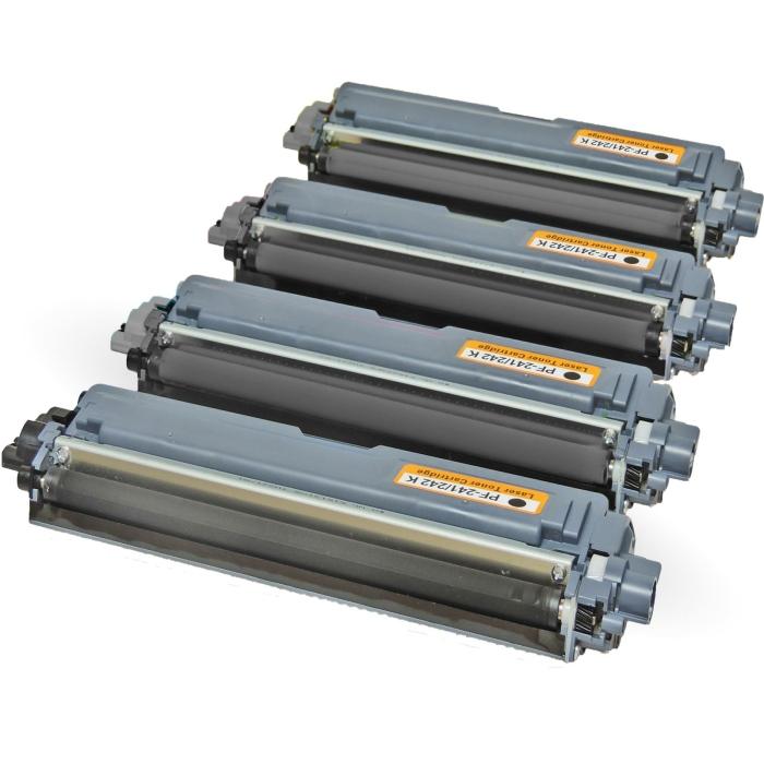 Kompatibel Brother TN-242 Toner Multipack 4 schwarze...