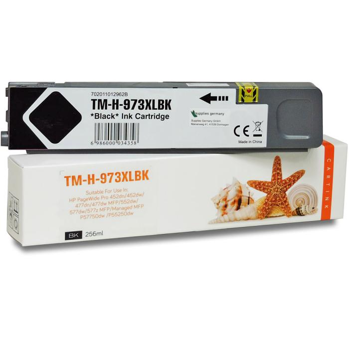 Kompatibel HP 973X, L0S07AE BK Schwarz Black Druckerpatrone für 10.000 Seiten von Gigao