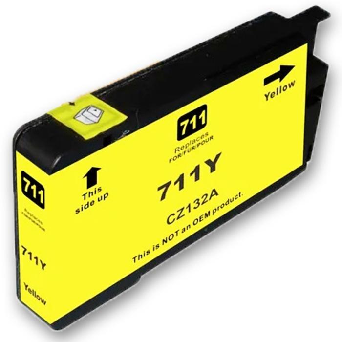 Kompatibel 4er Set HP 711XL Druckerpatronen Tinte von D&C