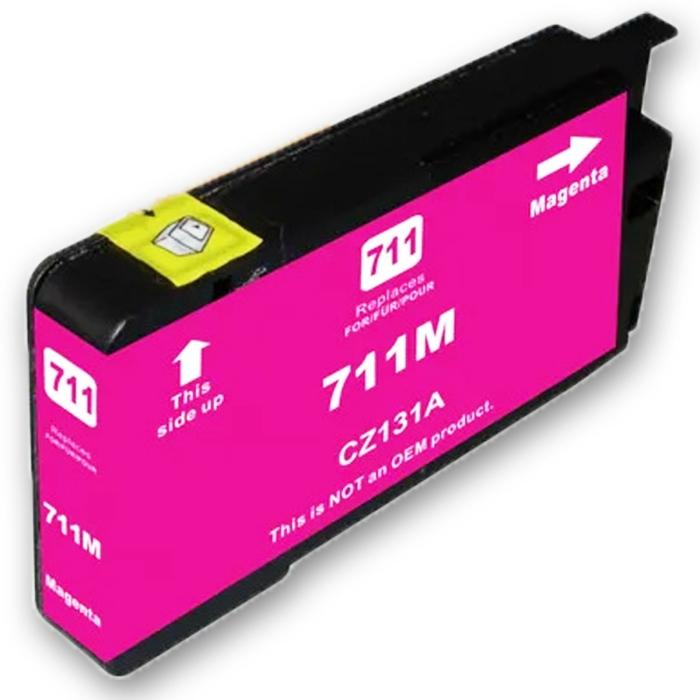 Kompatibel HP 711XL, CZ131A M Magenta Rot Druckerpatrone für 1.500 Seiten von D&C