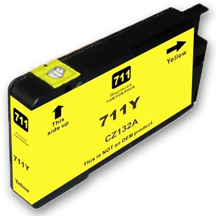 Kompatibel HP 711XL, CZ132A Y Yellow Gelb Druckerpatrone für 1.500 Seiten von D&C