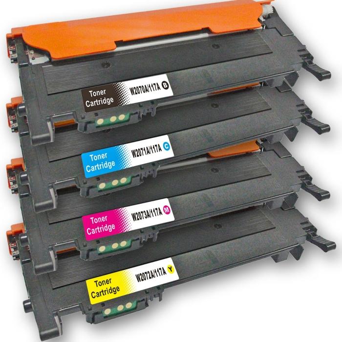 Kompatibel 4er Tonerset für HP Color Laser MFP...