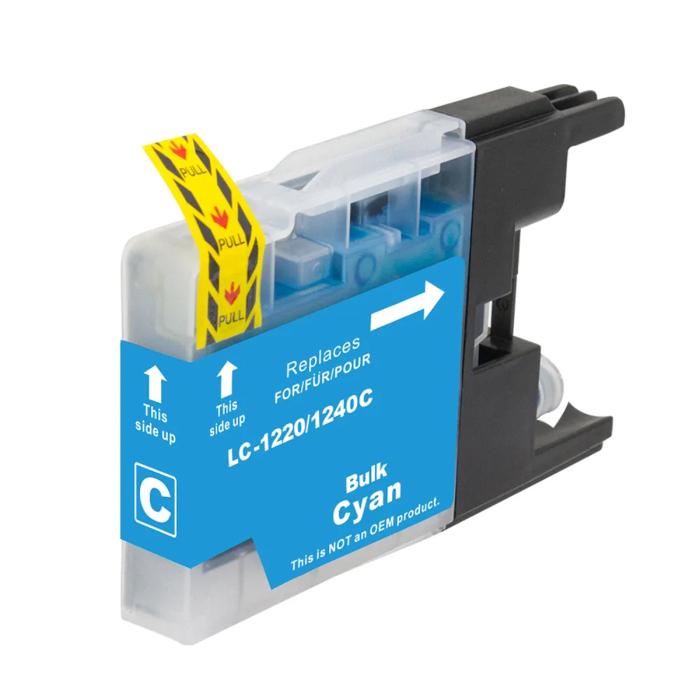 Kompatibel Brother LC-1240 XL C Cyan Blau Druckerpatrone...