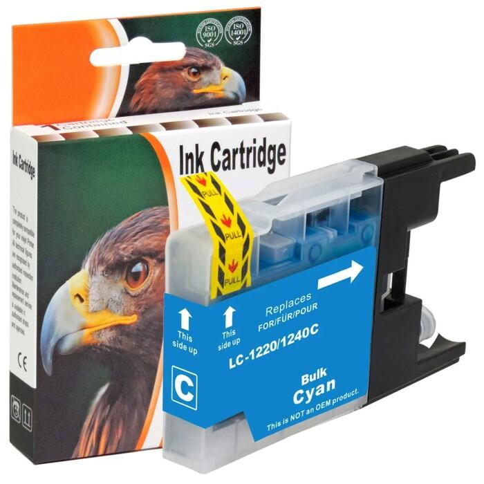 Kompatibel Brother LC-1240 XL C Cyan Blau Druckerpatrone für 600 Seiten von D&C