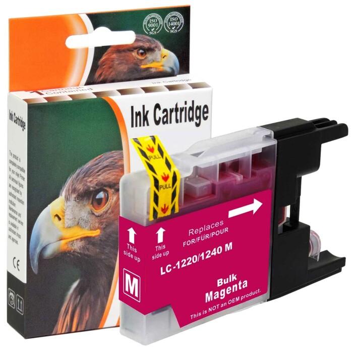 Kompatibel Brother LC-1240 XL M Magenta Rot Druckerpatrone für 600 Seiten von D&C
