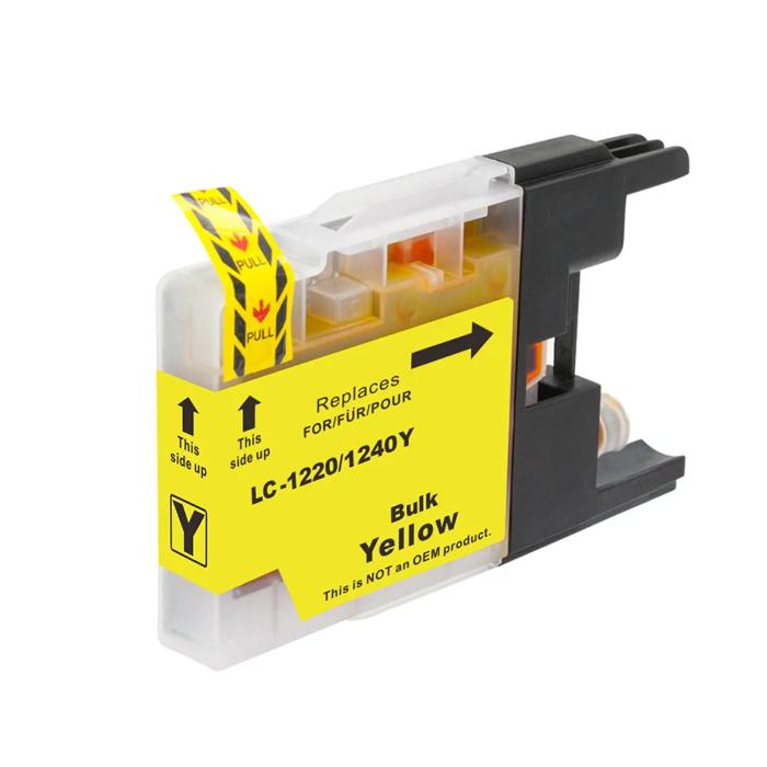 Kompatibel Brother LC-1240 XL Y Yellow Gelb...