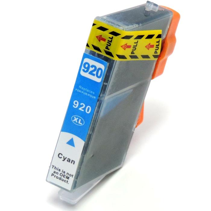 Kompatibel HP 920XL, CD972AE C Cyan Blau Druckerpatrone...