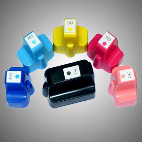 Kompatibel 6er Set HP 363XL, CB333EE Druckerpatronen Tinte von D&C
